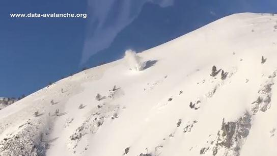 Avalanche Mercantour, secteur Mont Paracourete - Photo 1