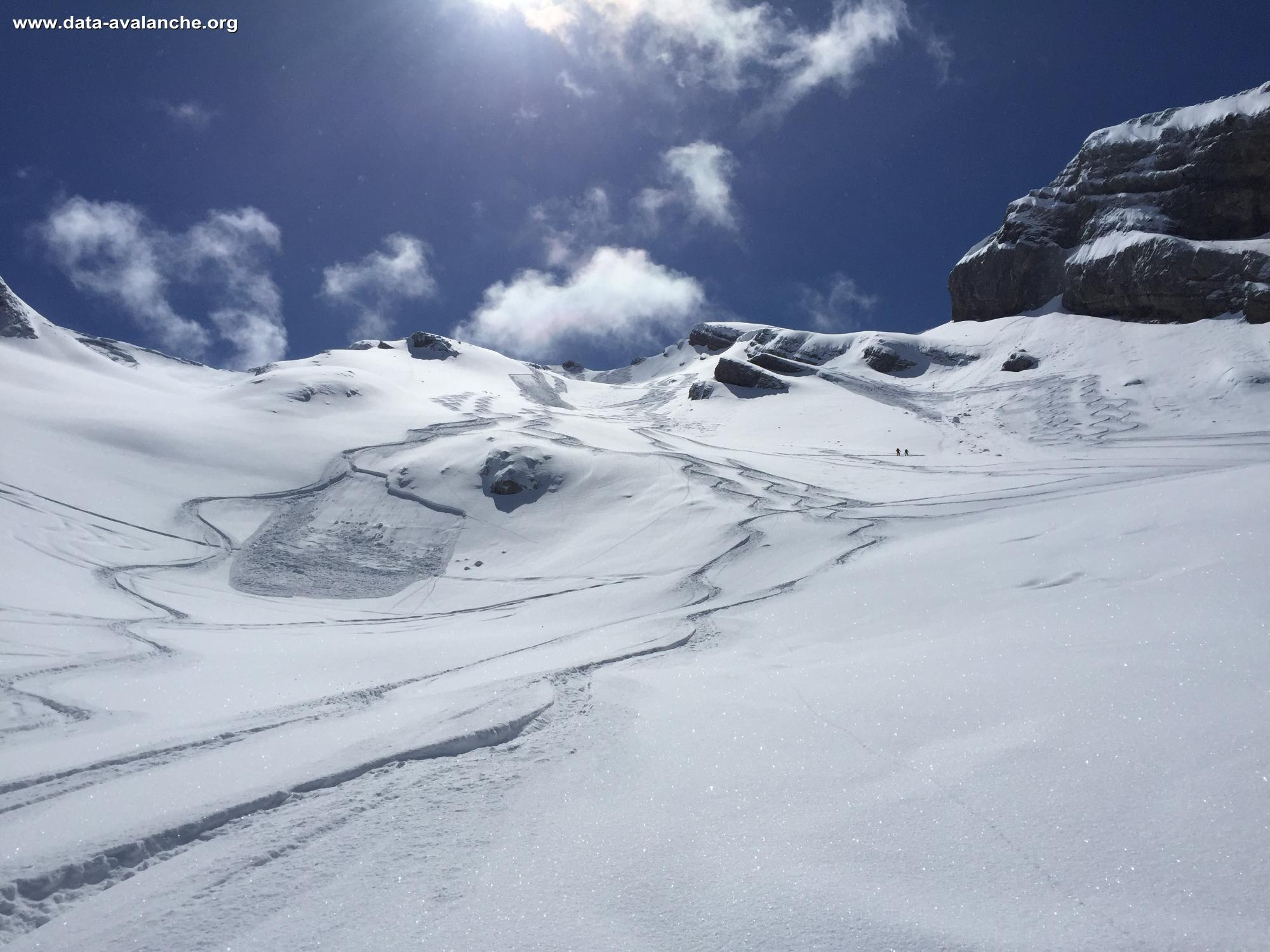 Avalanche Aravis, secteur Tête Pelouse, Combe du Grand Crêt - Photo 1