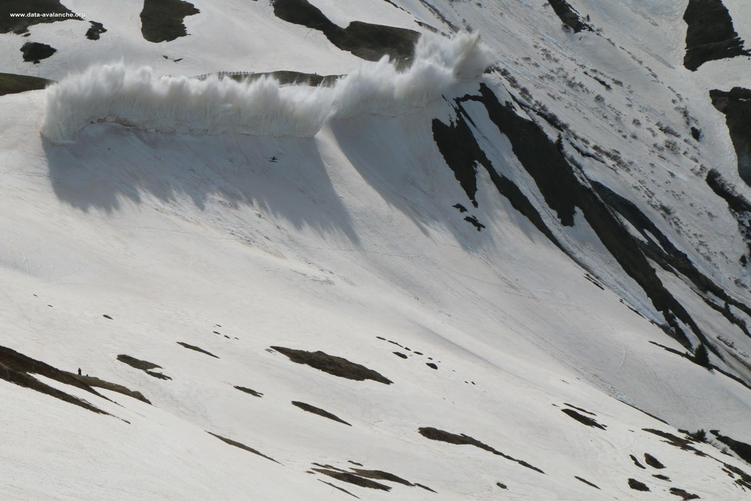 Avalanche Maurienne, secteur Ouillon, RD 927 Col du Glandon - Photo 1