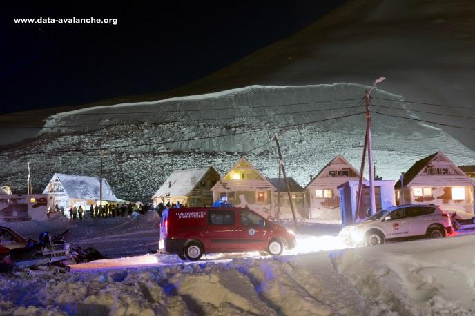Avalanche Svalbard, secteur Longyearbyen - Photo 1