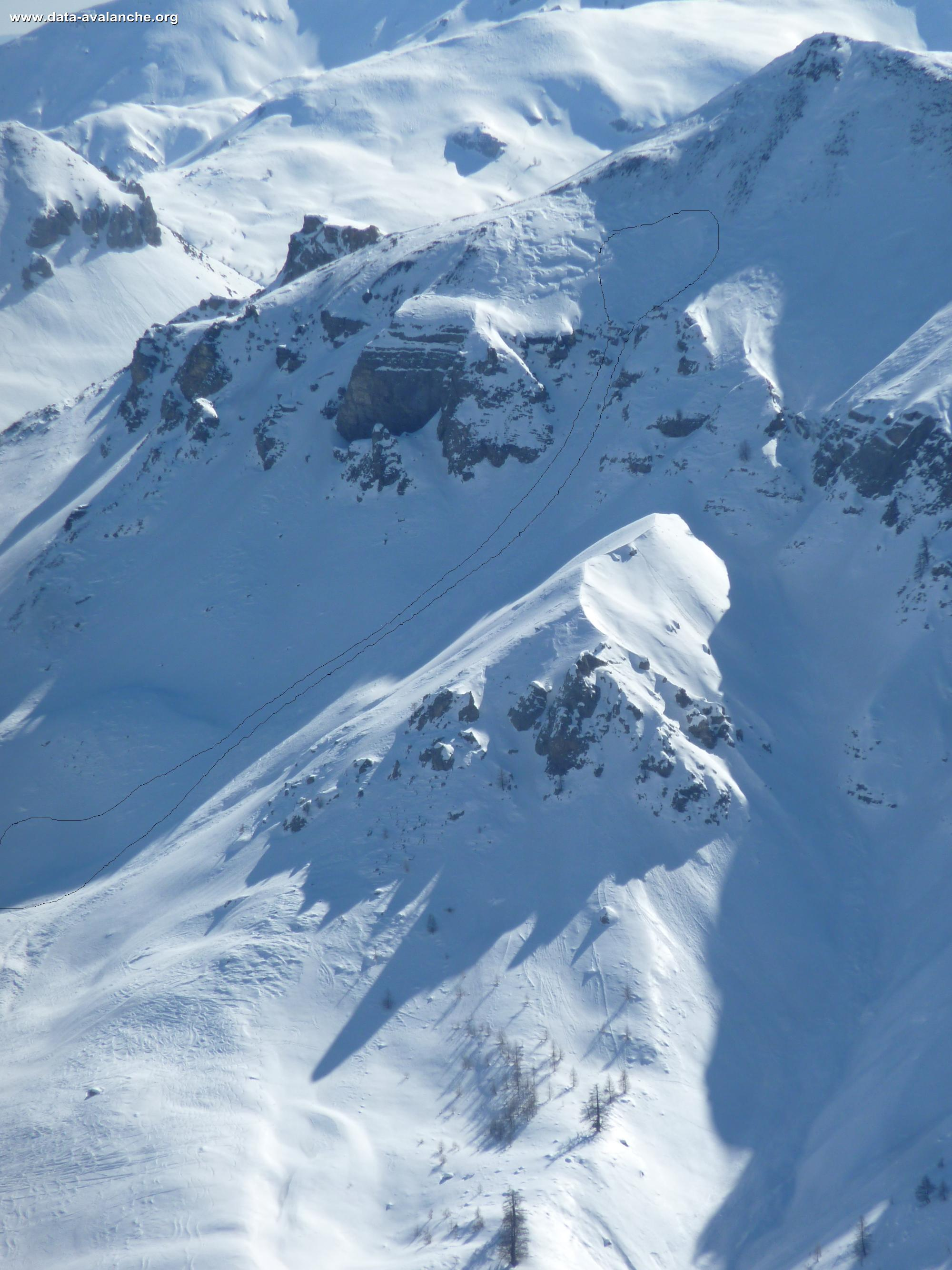 Avalanche Mercantour, secteur Mont Riounet - Photo 1