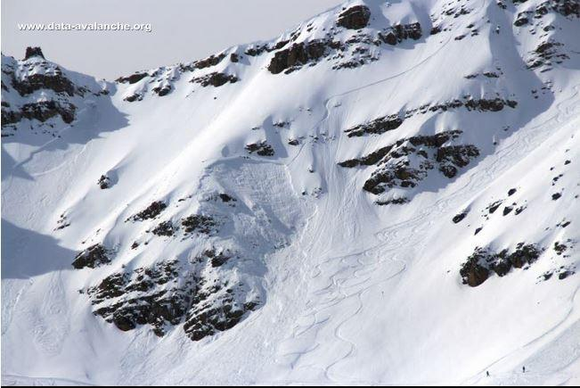 Avalanche Embrunais, secteur Pic de Chabrières - Photo 1