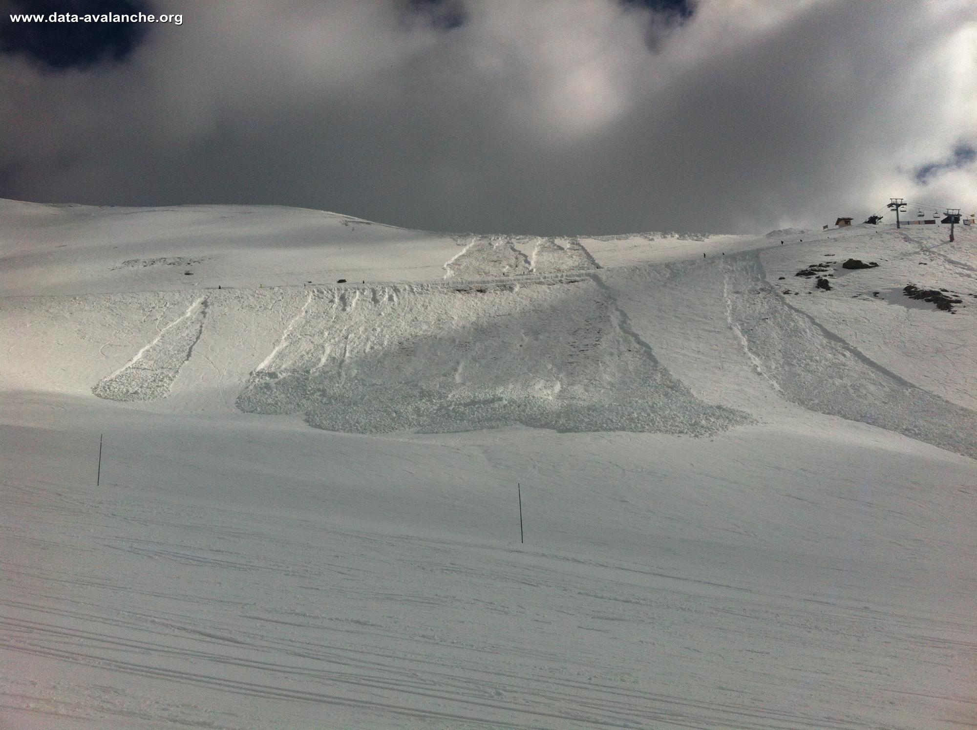 Avalanche Ecrins, secteur La Cucumelle, Face Sud - Photo 1