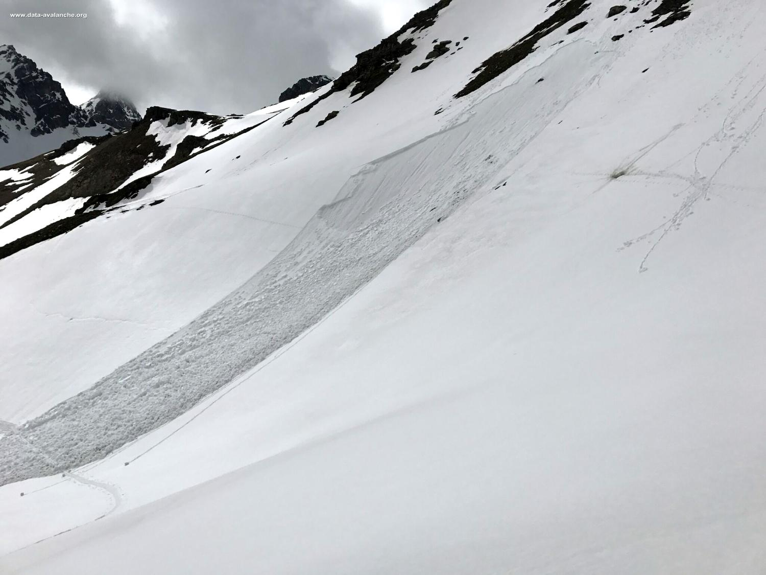 Avalanche Mont Thabor, secteur Refuge Mt Thabor, La Faysse - Photo 1