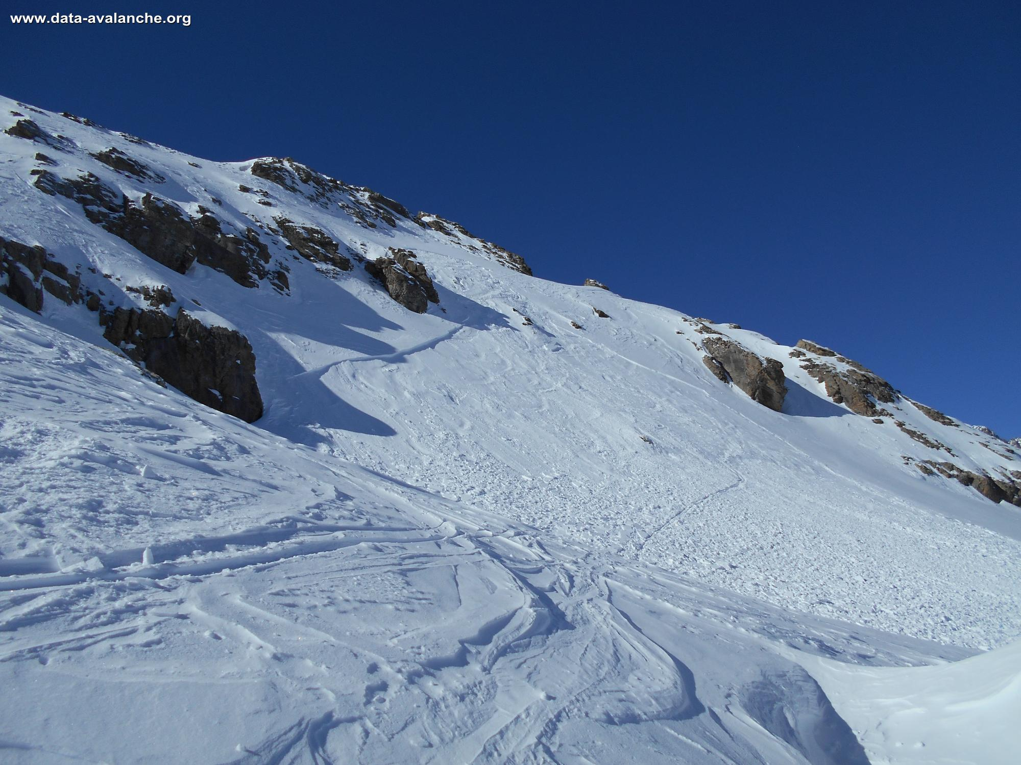 Avalanche Ecrins, secteur La Blanche, Vallouise - Photo 1 - © Berger Guillaume