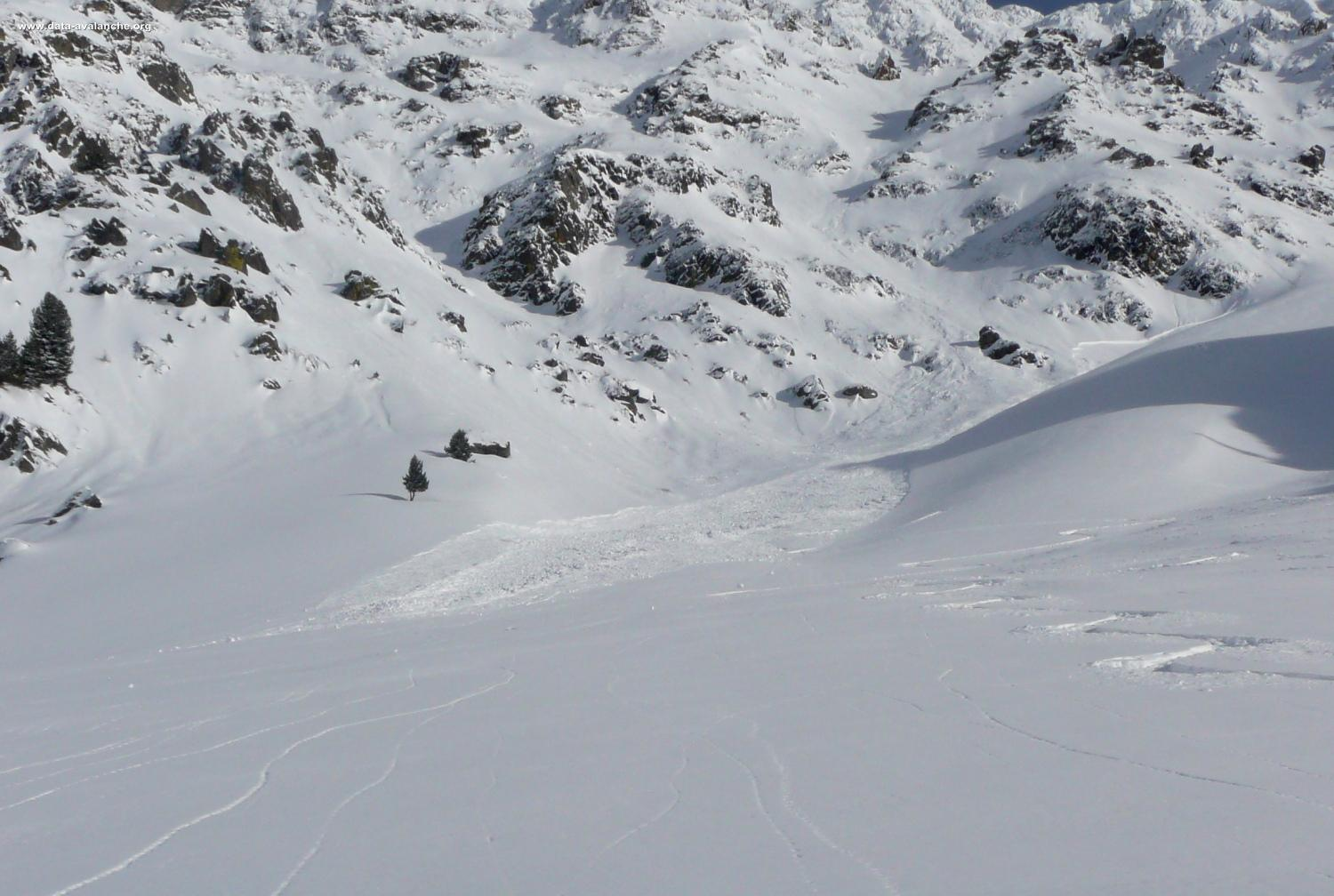 Avalanche Oisans, secteur Lavaldens, Vallon Guillaume - Photo 1