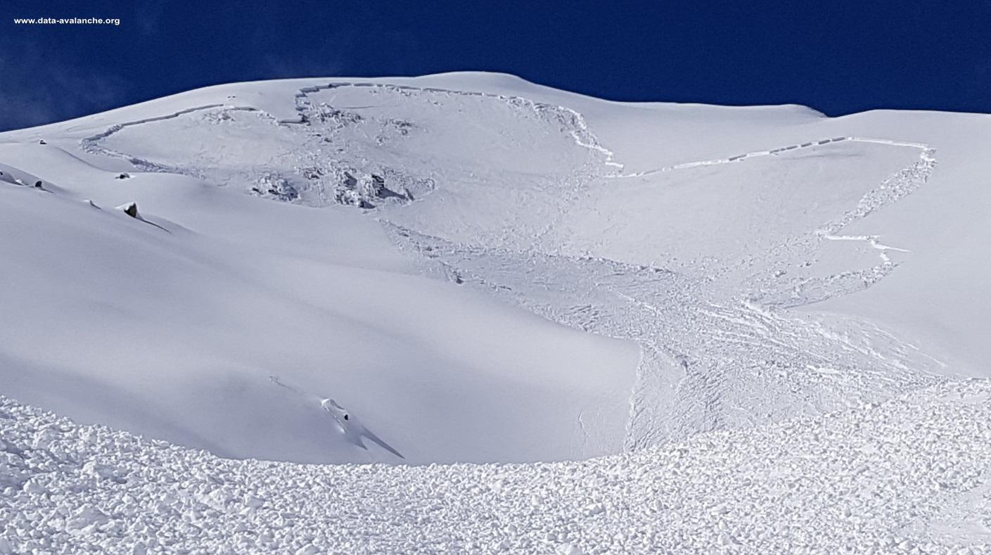 Avalanche Ubaye, secteur Arpillon - Photo 1