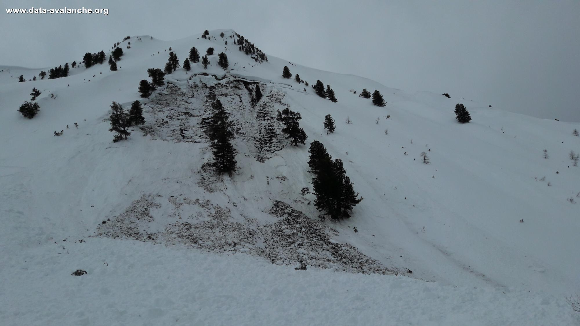 Avalanche Vanoise, secteur Mont du Saint-Jacques, La Plagne - Photo 1