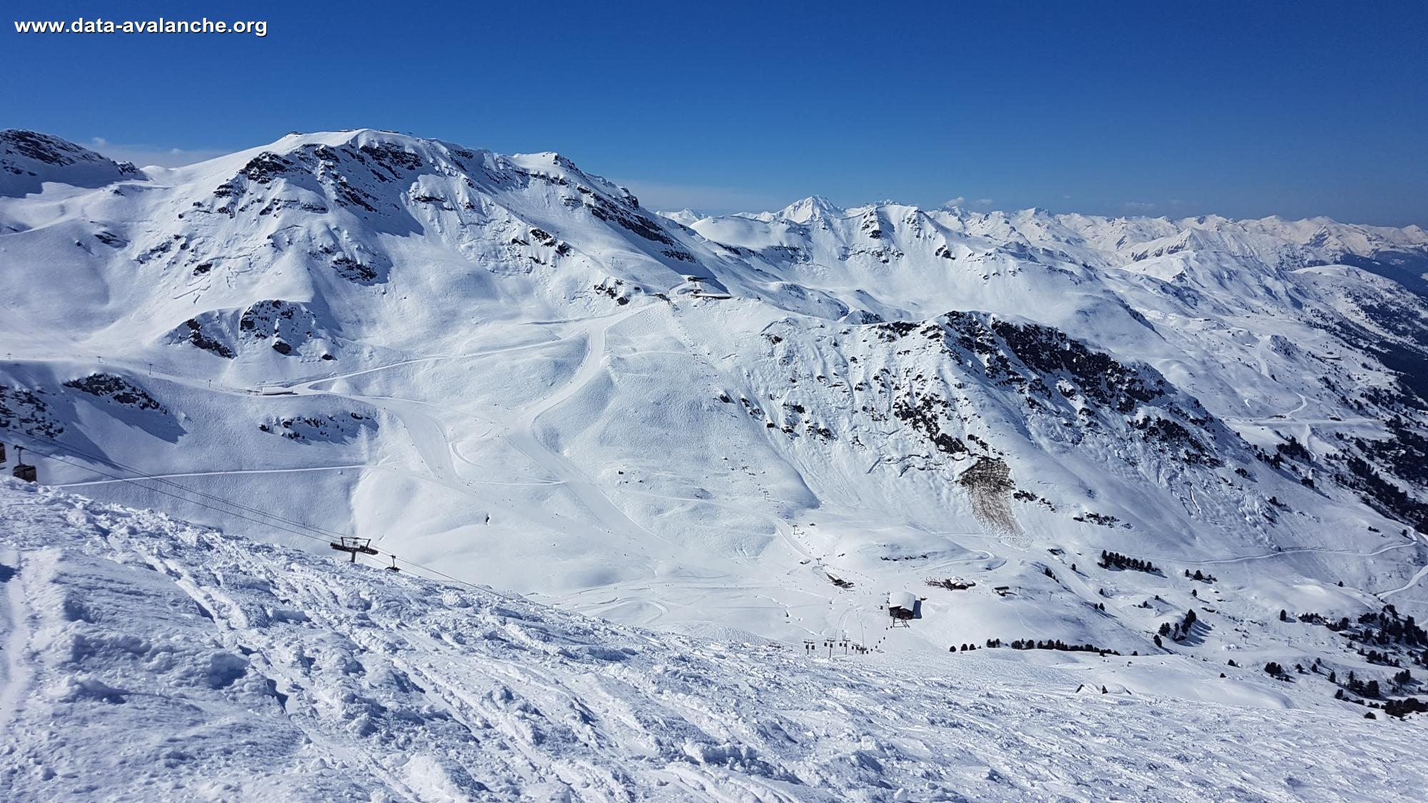 Avalanche Vanoise, Plan des mains - Photo 1