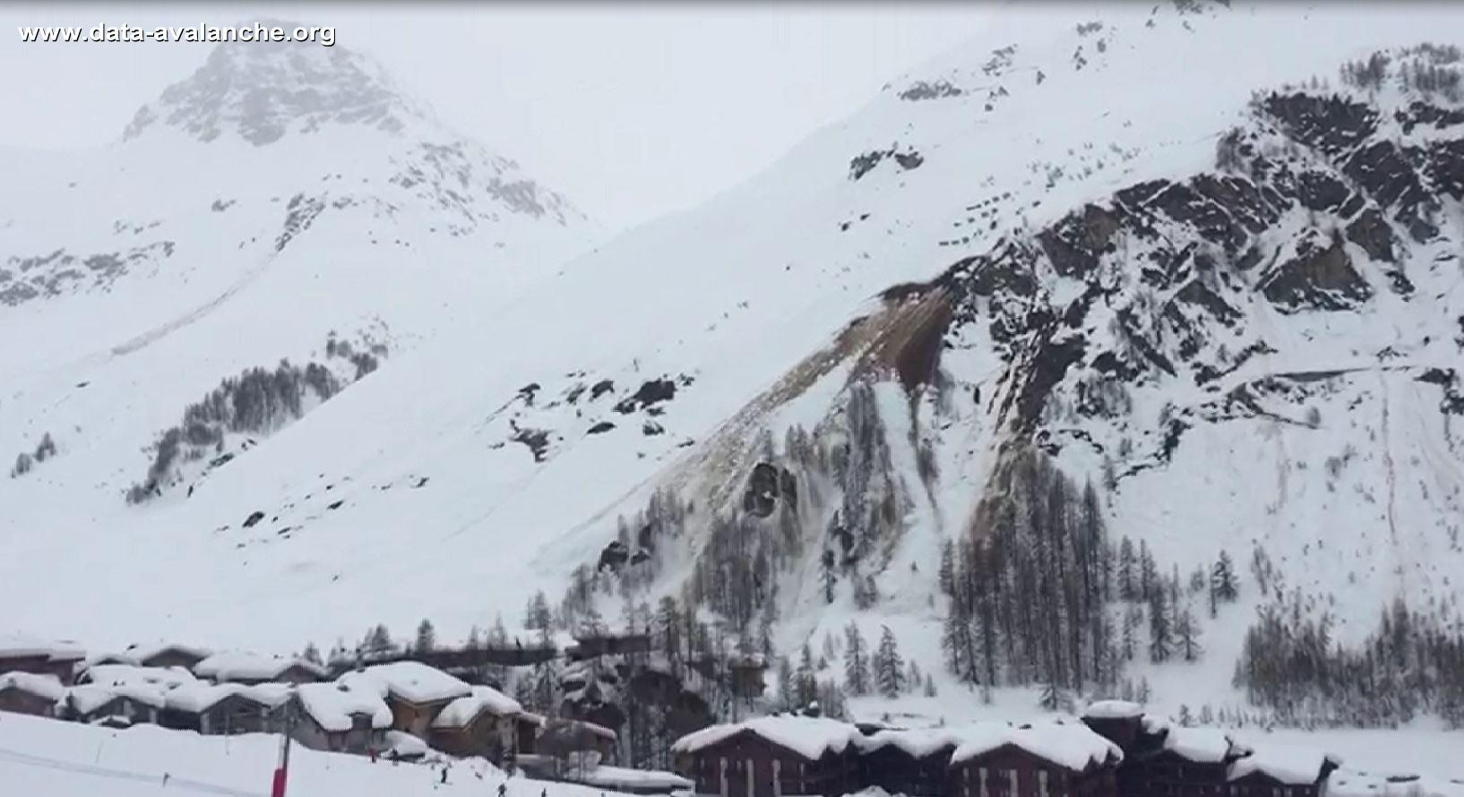 Avalanche Haute Tarentaise, secteur Bellevarde - Photo 1