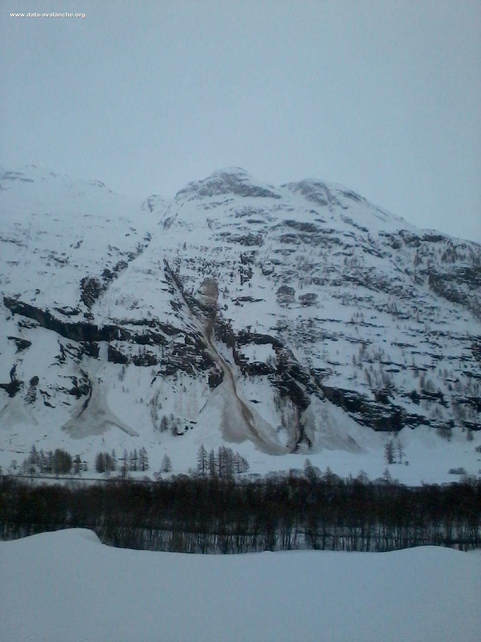 Avalanche Haute Maurienne, secteur Ouille Allegra - Photo 1