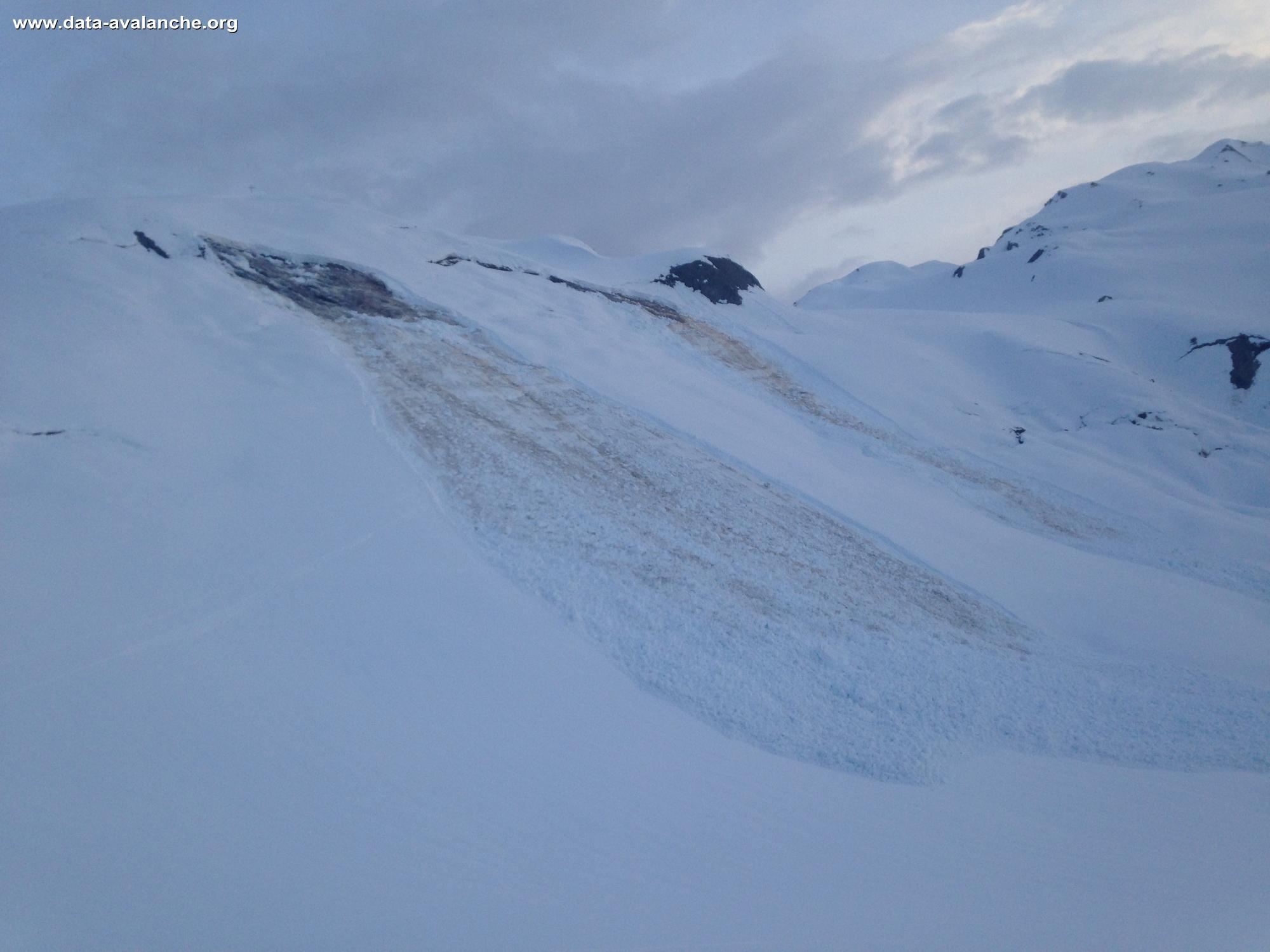 Avalanche Beaufortain, Col du Coin - Photo 1