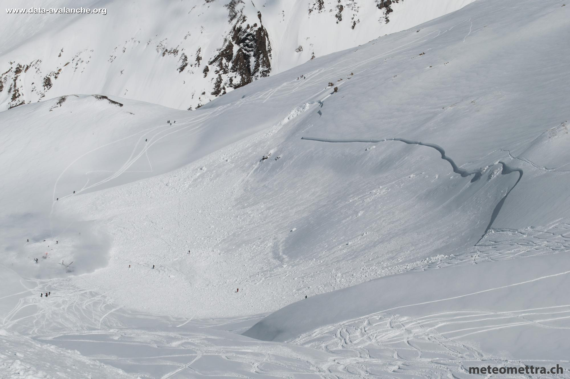 Avalanche Haute Tarentaise, Hors-piste du Vallonnet - Photo 1