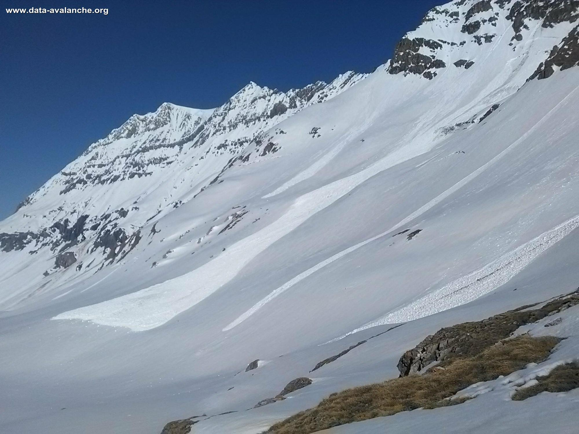 Avalanche Haute Tarentaise, secteur Grande Motte, Face Sud - Photo 1