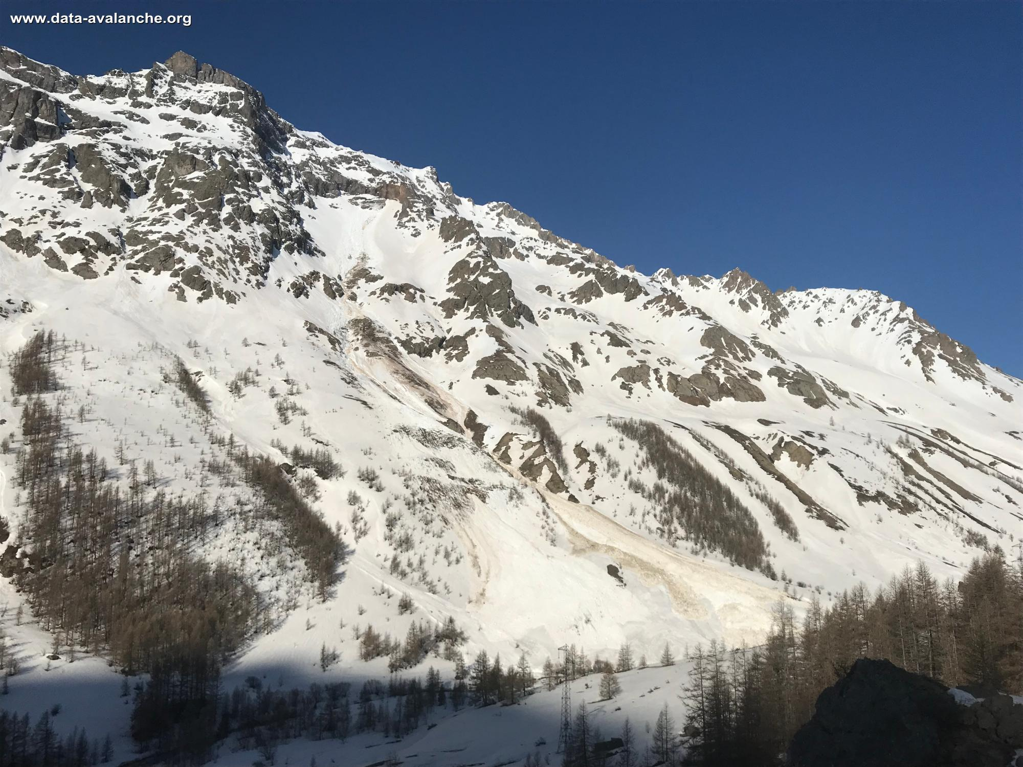 Avalanche Oisans, secteur Pic de Combeynot - Photo 1