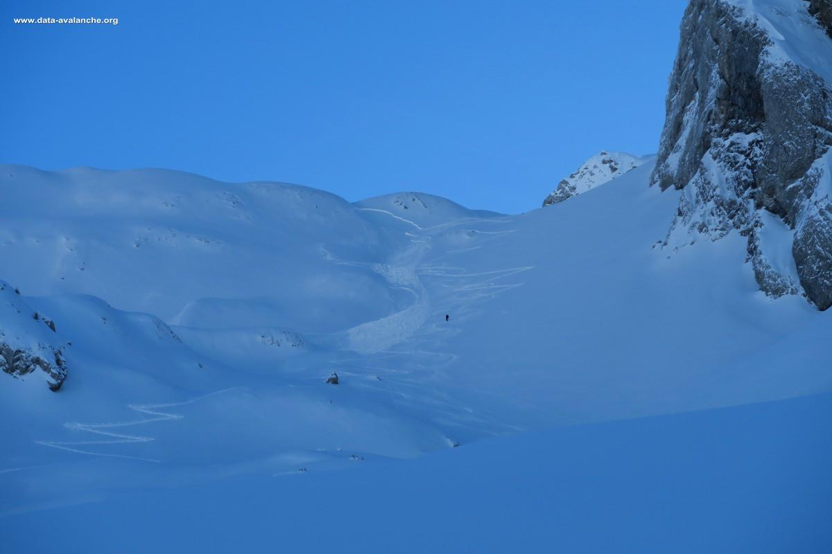 Avalanche Aravis, secteur Ambrevetta, Tardevant - Photo 1