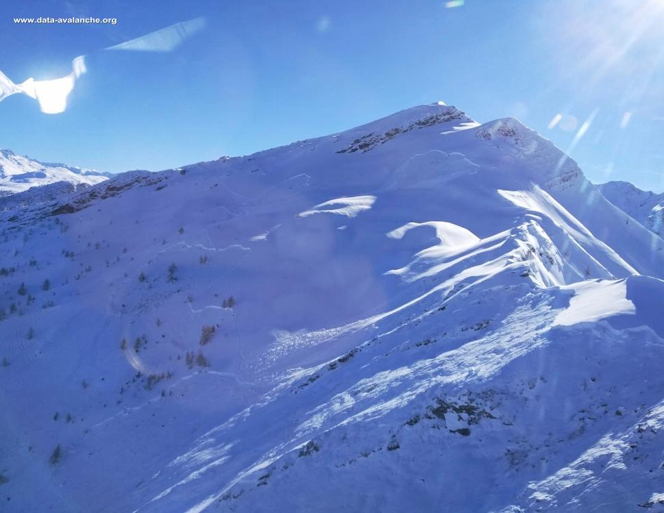 Avalanche Maurienne, secteur Casse Massion, Hors piste de Messolard - Photo 1