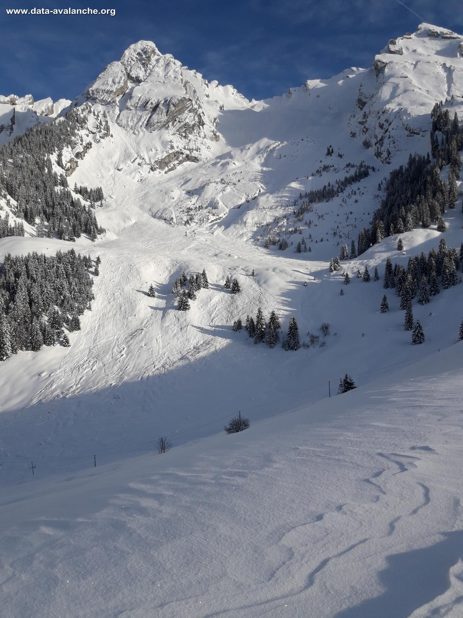 Avalanche Aravis, secteur combe de grand crêt, Combe du Grand Crêt - Photo 1