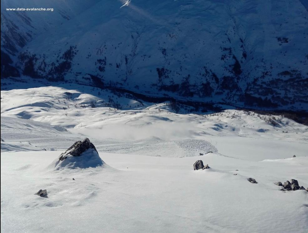 Avalanche Cerces, secteur La Mitre - Photo 1