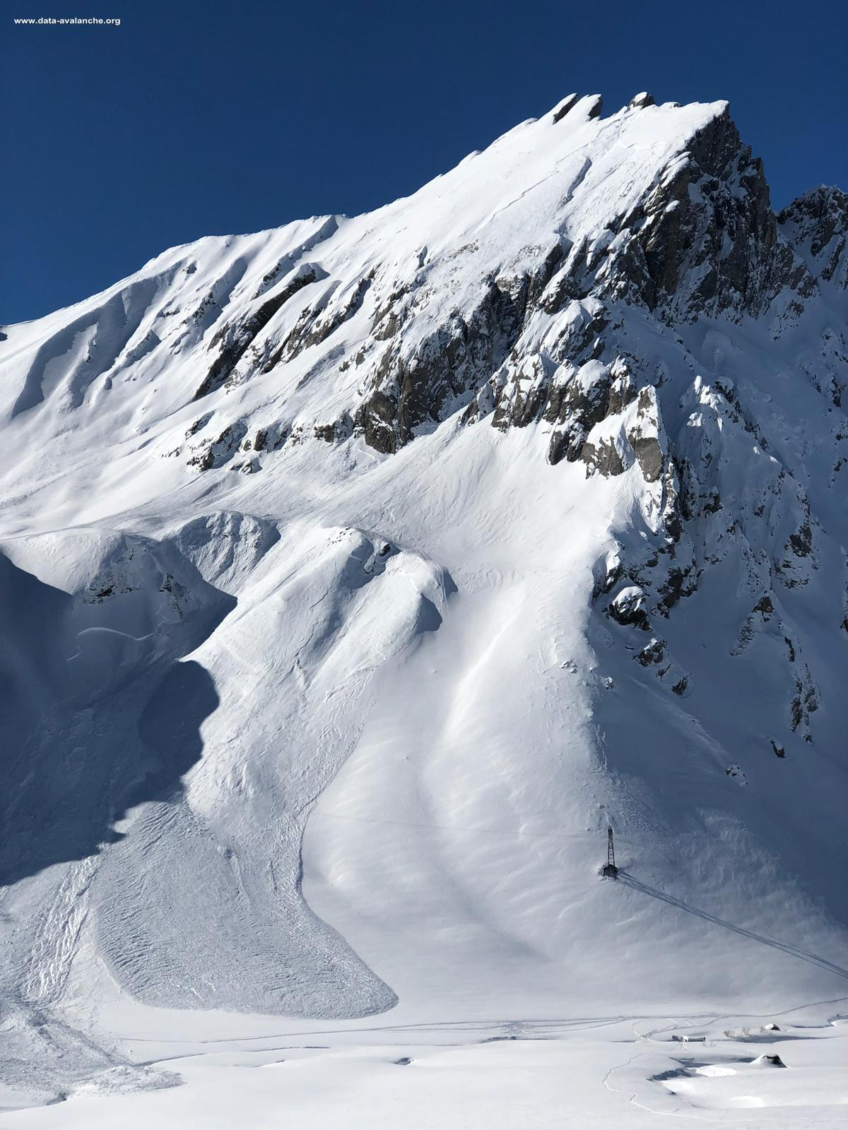 Avalanche Beaufortain, Col du Bonhomme - Photo 1