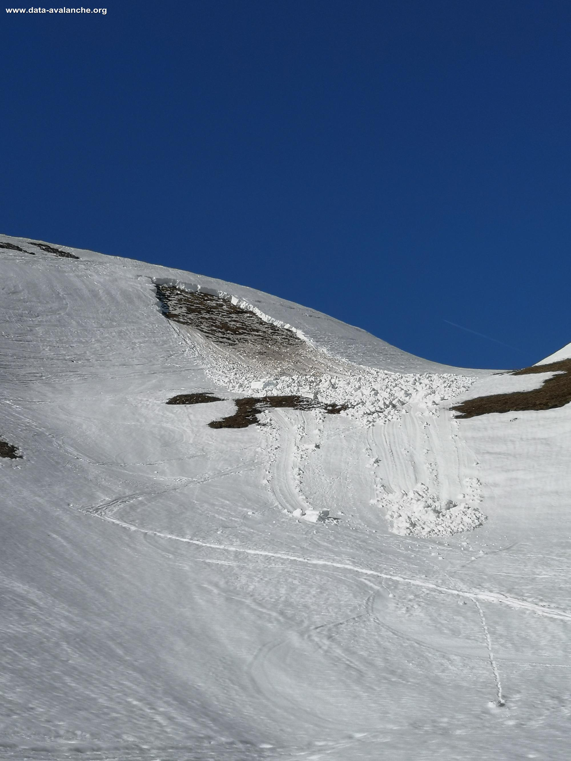 Avalanche Bauges, secteur Trélod - Photo 1