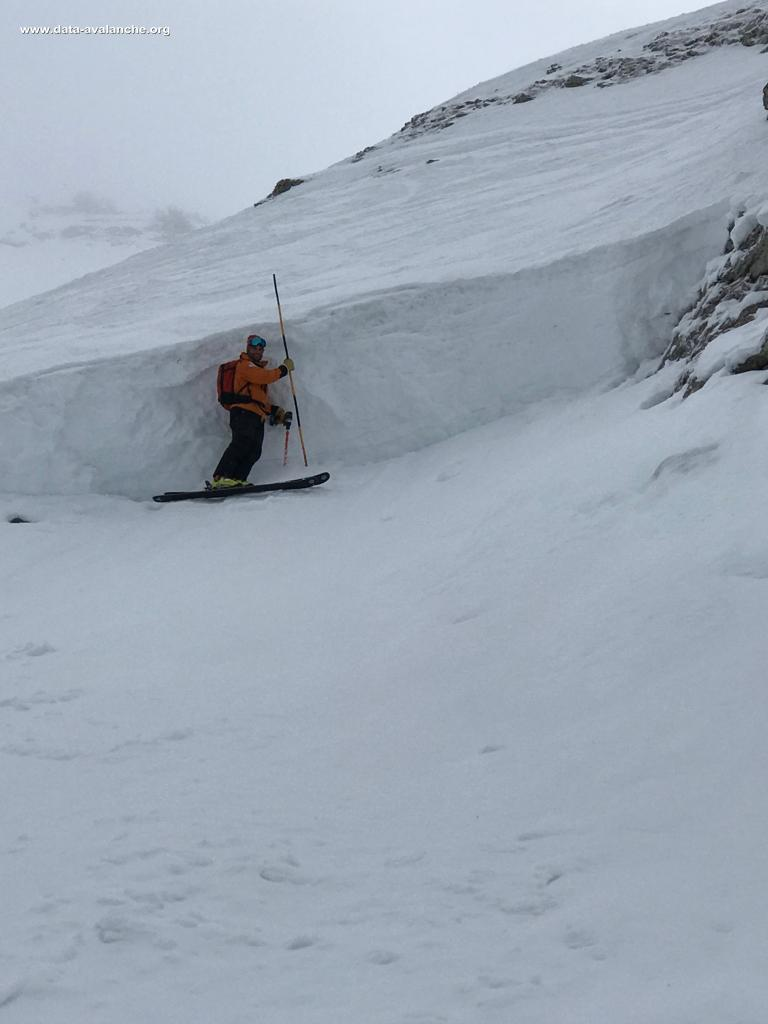 Avalanche Aravis, secteur Pointe de Merdassier - Photo 1