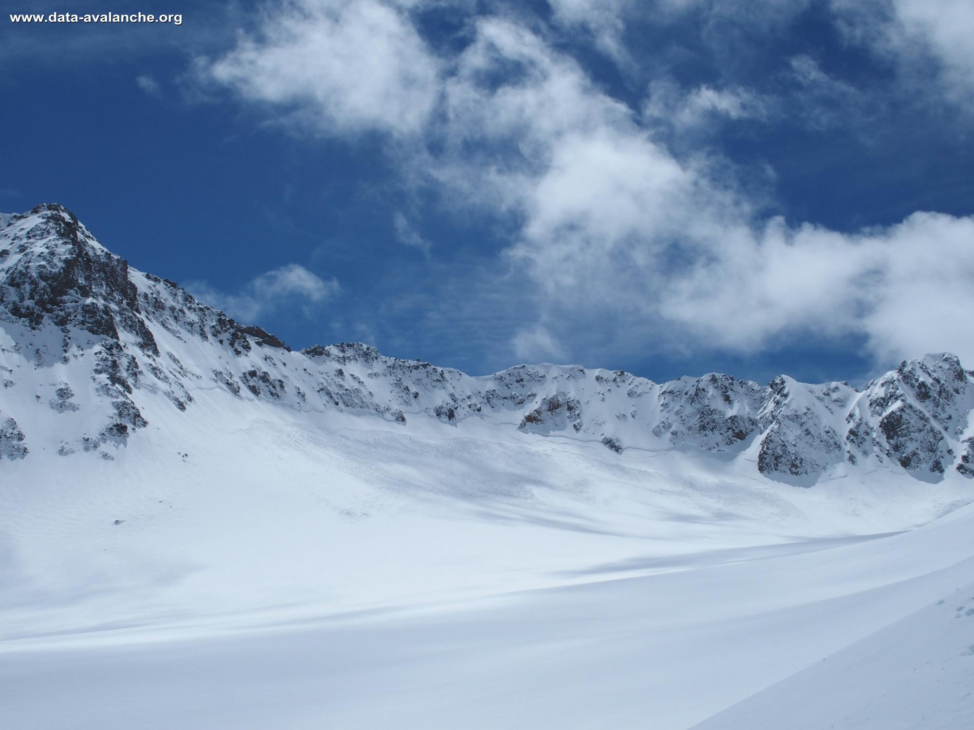 Avalanche Grandes Rousses, Col du Petit Sauvage - Photo 1