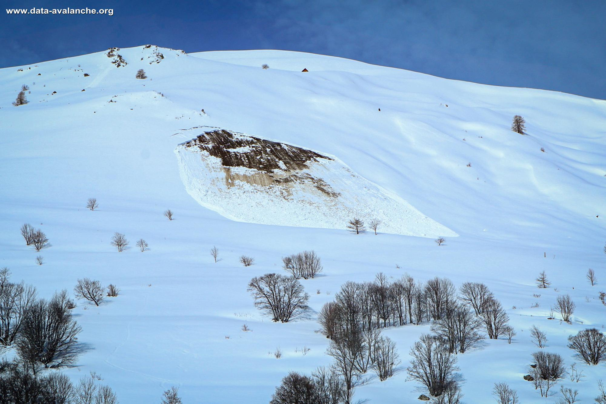 Avalanche Savoie - Photo 1 - © Assael Nicolas