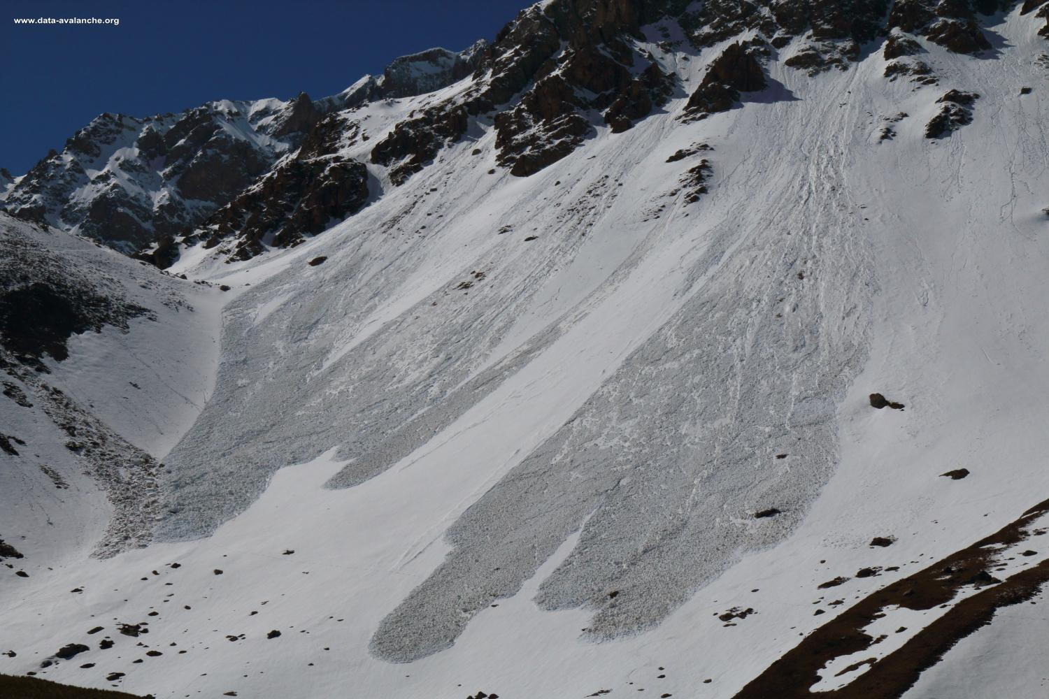 Avalanche Maurienne, secteur Grand Galibier, Pointe du Vallon - Plan Lachat - Photo 1 - © Duclos Alain