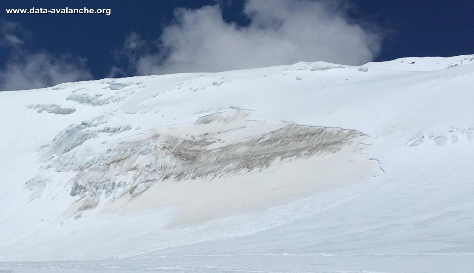 Avalanche Mont Rose, secteur Castor - Photo 1 - © Matteo calcamugi