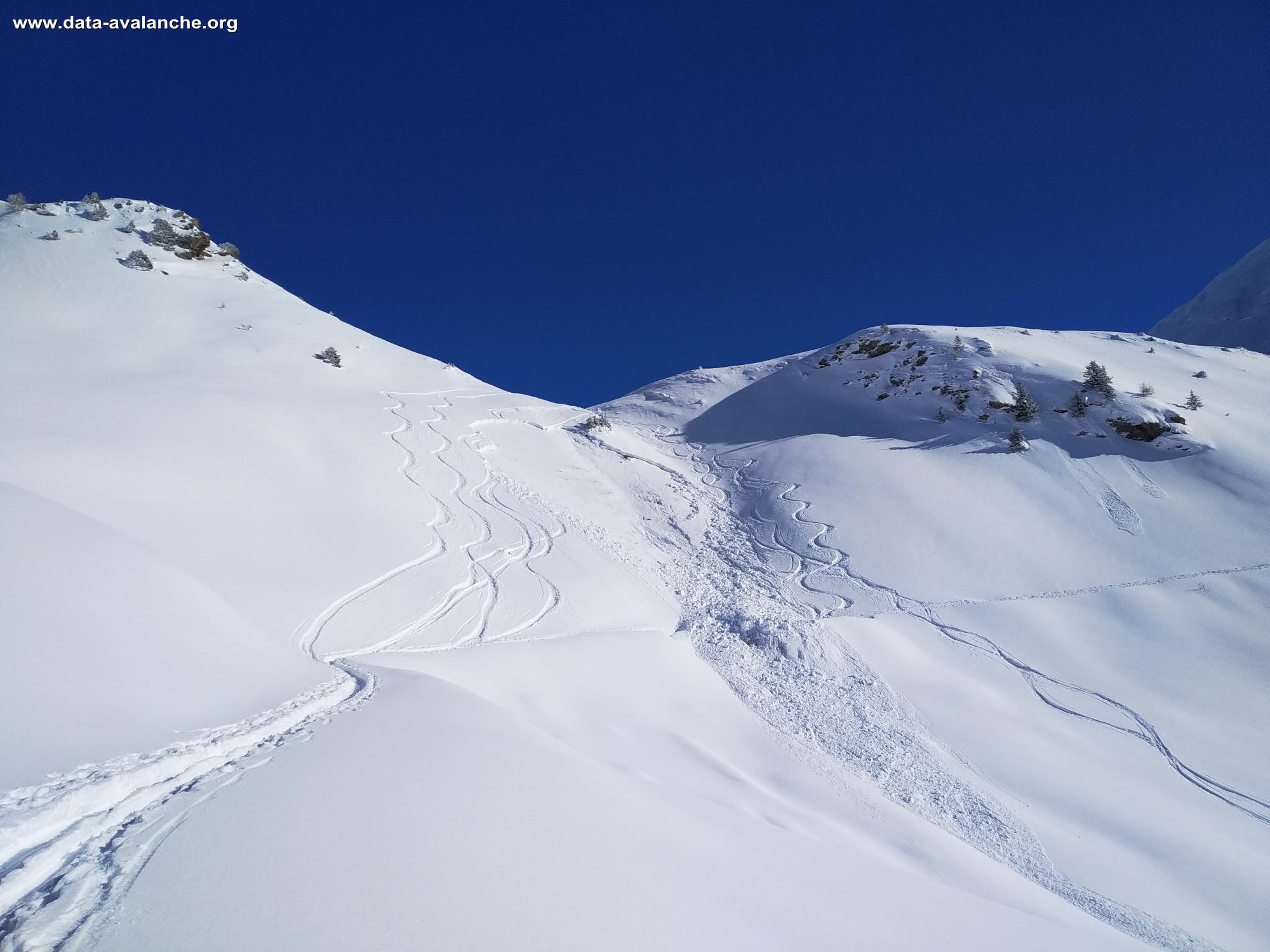 Avalanche Vanoise, secteur Mont Jovet, Mont Jovet - Photo 1 - © Laurent Vinit