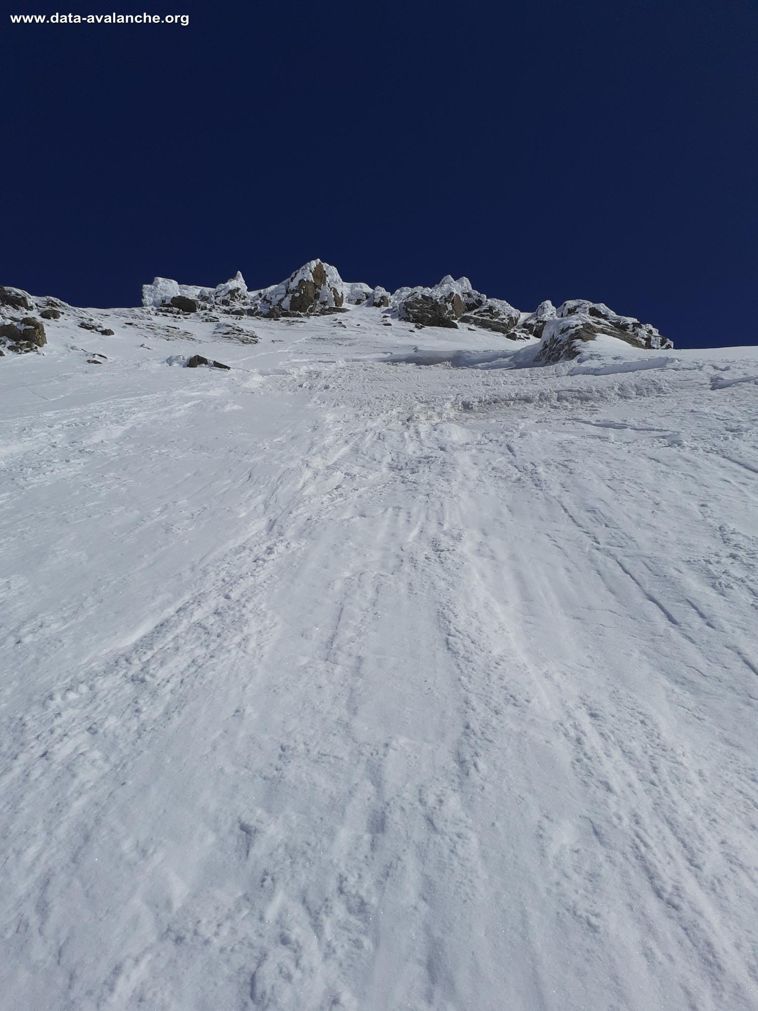 Avalanche Maurienne, secteur La Grande Chible, Face W - La Grande Chible - Photo 1 - © sousou15