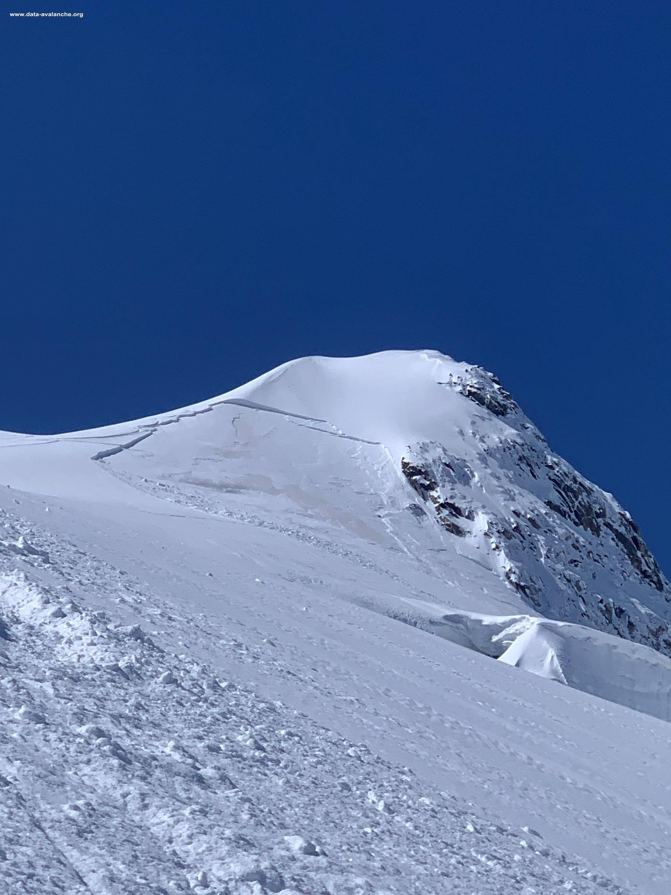 Avalanche Vanoise, secteur Grande Motte, Face Nord Grande Motte - Photo 1 - © Emeric PULCHERIE