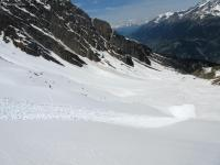 Avalanche Haute Maurienne, secteur Belle Plinier - Photo 4
