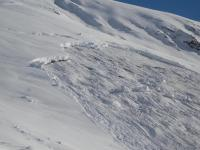 Avalanche Belledonne, secteur Selle du Puy Gris - Photo 5 - © MARION Pierre