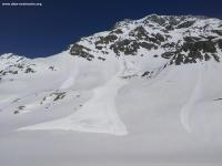 Avalanche Haute Tarentaise, secteur Grande Motte, Face Sud - Photo 2