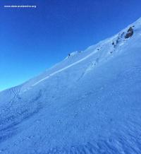 Avalanche Ubaye, secteur Caire Brun, Face Nord - Photo 3