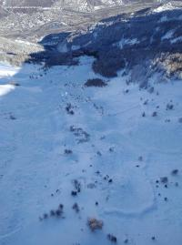 Avalanche Maurienne, secteur Casse Massion, Hors piste de Messolard - Photo 7