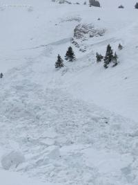 Avalanche Aravis, secteur Pointe de Merdassier - Photo 3