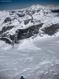 Avalanche Vanoise, secteur Grande Motte, Face Nord Grande Motte - Photo 4 - © Emeric PULCHERIE