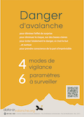 Couverture Flyer Avalanches l'essentiel